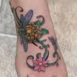 Ankle Tattoos 10 150x150 - 100's of Ankle Tattoo Design Ideas Picture Gallery