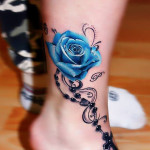 Ankle Tattoos 3 150x150 - 100's of Ankle Tattoo Design Ideas Picture Gallery