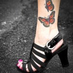 Ankle Tattoos 6 150x150 - 100's of Ankle Tattoo Design Ideas Picture Gallery