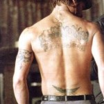 Brad Pitt Tattoos 6 150x150 - 100's of Brad Pitt Tattoo Design Ideas Picture Gallery