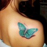 Butterfly Tattoo Designs 2013 For Girls 002 150x150 - 100's of Girl Tattoo Design Ideas Picture Gallery