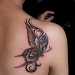Butterfly Tattoo for Girls 150x150 - 100's of Butterfly Tattoo Design Ideas Picture Gallery