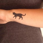 Cat Tattoos 2 150x150 - 100's of Cat Tattoo Design Ideas Picture Gallery
