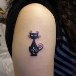 Cat Tattoos 4 150x150 - 100's of Cat Tattoo Design Ideas Picture Gallery