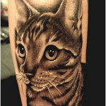 Cat Tattoos 7 150x150 - 100's of Cat Tattoo Design Ideas Picture Gallery
