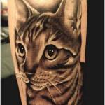 Cat Tattoos 7 150x150 - 100's of Cat Tattoo Design Ideas Picture Gallery