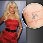 Christina Aguilera Tattoos 03 150x150 - 100's of Chritina Aguilera Tattoo Design Ideas Picture Gallery