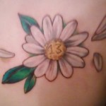 Daisy Tattoos 1 150x150 - 100's of Daisy Tattoo Design Ideas Picture Gallery
