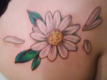100's of Daisy Tattoo Design Ideas Picture Gallery
