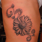 Daisy Tattoos 10 150x150 - 100's of Daisy Tattoo Design Ideas Picture Gallery