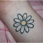 Daisy Tattoos 13 150x150 - 100's of Daisy Tattoo Design Ideas Picture Gallery