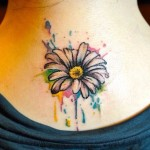 Daisy Tattoos 6 150x150 - 100's of Daisy Tattoo Design Ideas Picture Gallery