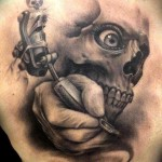 Demon Tattoo Studio 150x150 - 100's of Skull Tattoo Design Ideas Picture Gallery
