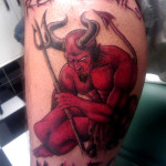 Devil Tattoos 1 150x150 - 100's of Devil Tattoo Design Ideas Picture Gallery