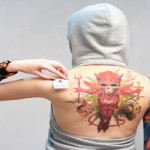 Devil Tattoos 12 150x150 - 100's of Devil Tattoo Design Ideas Picture Gallery