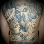 Devil Tattoos 13 150x150 - 100's of Devil Tattoo Design Ideas Picture Gallery
