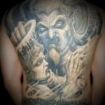Devil Tattoos 13 150x150 - 100's of Devil Tattoo Design Ideas Picture Gallery