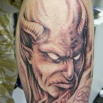 Devil Tattoos 2 150x150 - 100's of Devil Tattoo Design Ideas Picture Gallery