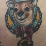 Dog Tattoos 14 150x150 - 100's of Dog Tattoo Design Ideas Picture Gallery