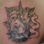 Dog Tattoos 3 150x150 - 100's of Dog Tattoo Design Ideas Picture Gallery