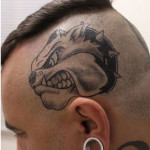 Dog Tattoos 5 150x150 - 100's of Dog Tattoo Design Ideas Picture Gallery