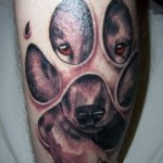 Dog Tattoos 6 150x150 - 100's of Dog Tattoo Design Ideas Picture Gallery