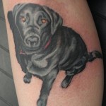 Dog Tattoos 7 150x150 - 100's of Dog Tattoo Design Ideas Picture Gallery