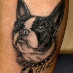 Dog Tattoos 9 150x150 - 100's of Dog Tattoo Design Ideas Picture Gallery