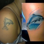 Dolphin Tattoos 3 150x150 - 100's of Dolphin Tattoo Design Ideas Picture Gallery