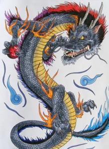 Dragon Japanese Tattoo Designs 219x300 - Dragon-Japanese-Tattoo-Designs