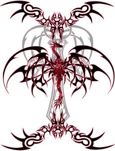 Dragon Tattoo Vinyl by VeXiiNo 230x300 - Dragon_Tattoo_Vinyl_by_VeXiiNo