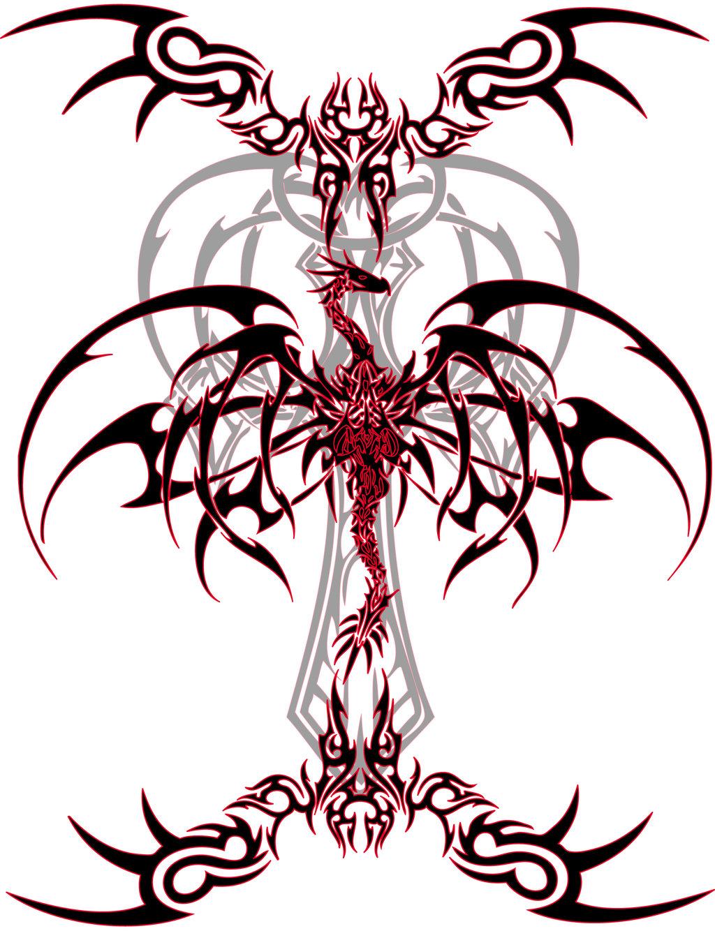 Dragon_Tattoo_Vinyl_by_VeXiiNo