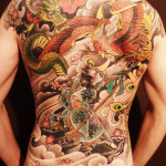 Dragon Tattoo by Mister GLoOP 150x150 - 100's of Dragon Tattoo Design Ideas Picture Gallery