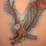 Eagle Tattoos 10 150x150 - 100's of Eagle Tattoo Design Ideas Picture Gallery