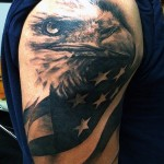Eagle Tattoos 13 150x150 - 100's of Eagle Tattoo Design Ideas Picture Gallery