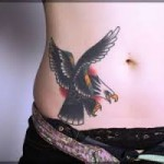 Eagle Tattoos 14 150x150 - 100's of Eagle Tattoo Design Ideas Picture Gallery