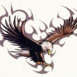 Eagle Tattoos 61 150x150 - 100's of Eagle Tattoo Design Ideas Picture Gallery