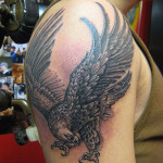 Eagle Tattoos 71 150x150 - 100's of Eagle Tattoo Design Ideas Picture Gallery