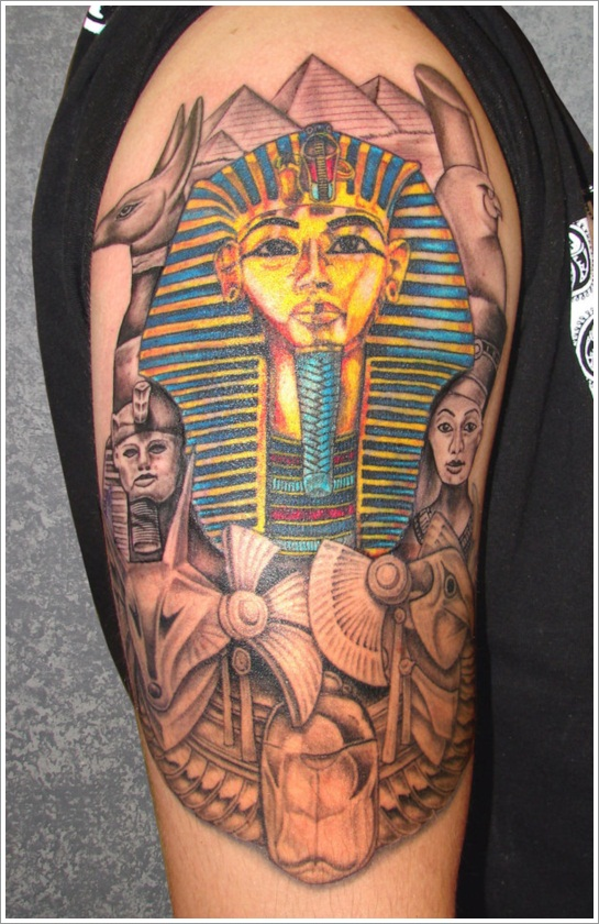 100's of Egyption Tattoo Design Ideas Picture Gallery