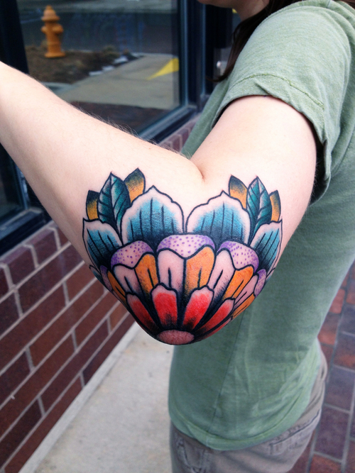 Elbow Tattoos (14)
