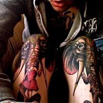 Elbow Tattoos 22 150x150 - 100's of Knee Tattoo Design Ideas Picture Gallery