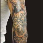 Elbow Tattoos 53 150x150 - 100's of Elbow Tattoo Design Ideas Picture Gallery