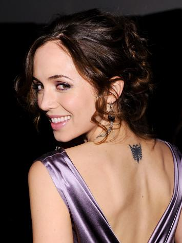 Eliza Dushku Tattoos 1 - 100's of Eliza Dushku Tattoo Design Ideas Picture Gallery