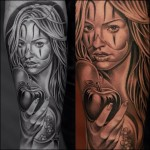 Eve Tattoos 7 150x150 - 100's of Eve Tattoo Design Ideas Picture Gallery