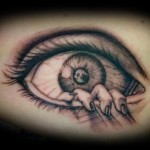 Eye Tattoos 4 150x150 - 100's of Eye Tattoo Design Ideas Picture Gallery