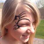 Face Tattoos 41 150x150 - 100's of Face Tattoo Design Ideas Picture Gallery