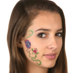 Face Tattoos 51 150x150 - 100's of Face Tattoo Design Ideas Picture Gallery