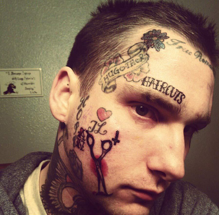 Facial Tattoo Gallery 34