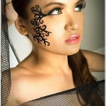 Face Tattoos 81 150x150 - 100's of Face Tattoo Design Ideas Picture Gallery
