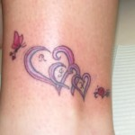Family Heart Tattoo1 150x150 - 100's of Heart Tattoo Design Ideas Picture Gallery